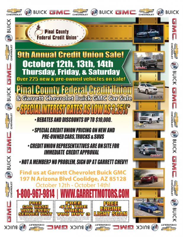 9th Annual Car Sale!